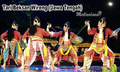 Tari Beksan Wireng (Jawa Tengah)