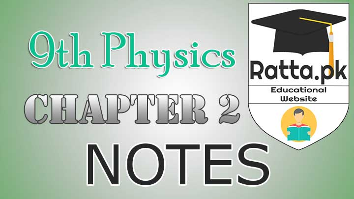 9th Physics Chapter 2 Notes Force and Laws of Motion - Definitions & Formulae