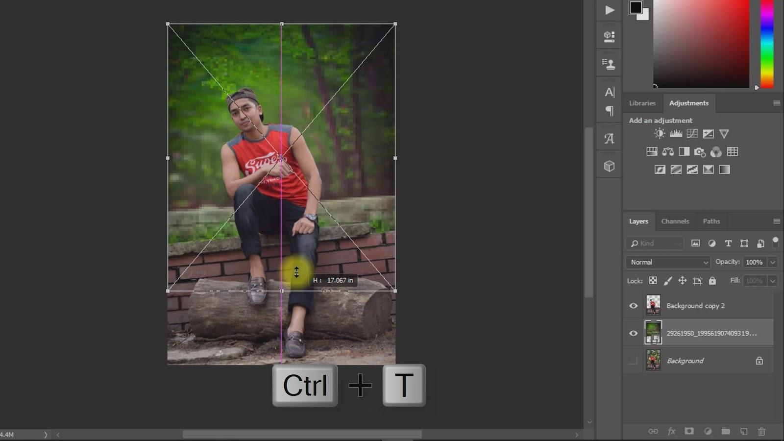 outdoor portrait photo manipulations working screenshot 3