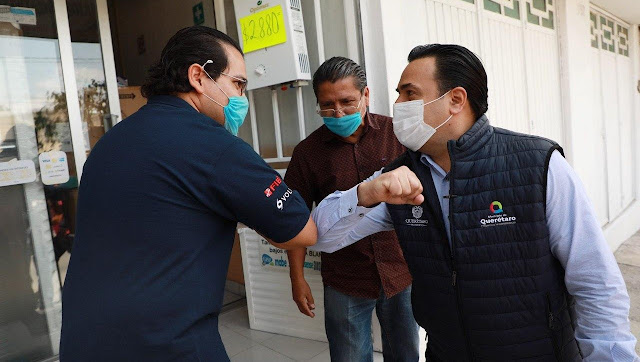 Juntos, sociedad y gobierno, hacemos la diferencia frente a los efectos de la pandemia: Luis Nava