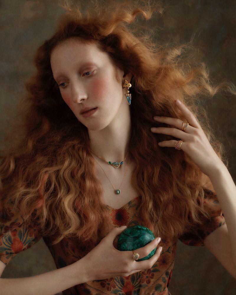 Liberty Christmas 2019 Jewelry Campaign