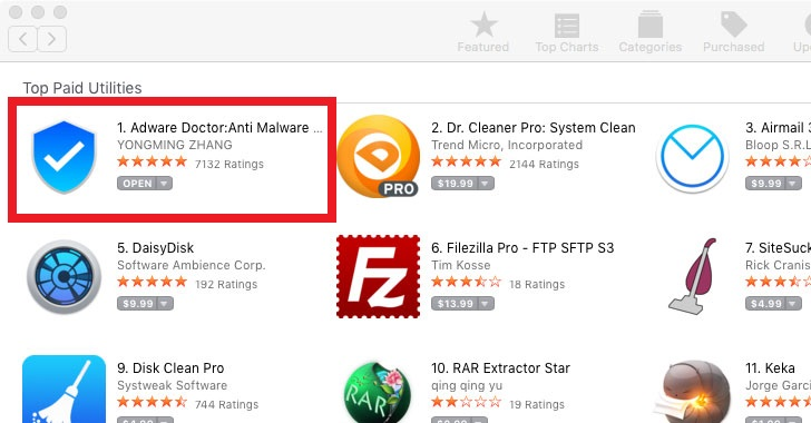 anti-malware adware removal tool for apple macbook