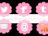 Social Media Pink Flower Freebie