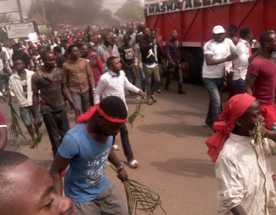 benue indigenes protest herdsmen killings makurdi