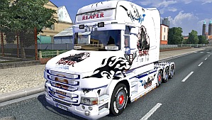 Reaper skin for Scania T