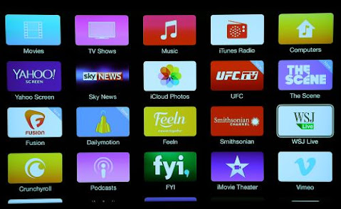 varieties of channels on apple tv internet live tv