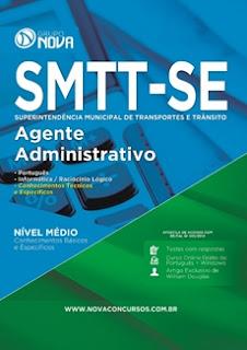 Apostila SMTT Estância 2016 Agente Administrativo