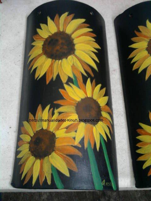 Arte arte y mas arte septiembre 2012 - Pintar tejas de barro ...