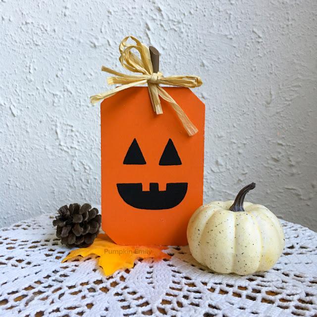 Jack O Lantern DIY Wooden Pumpkin
