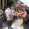 Kapolsek Galsel, Pimpin Pengamanan Aksi Demo di SMA Negeri 5 Takalar