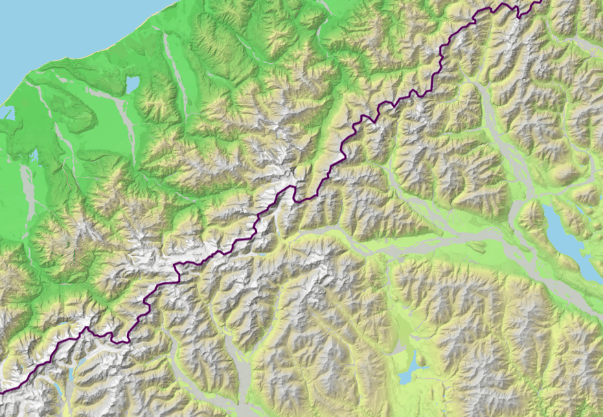 master maps: Mapping the regions of New Zealand with