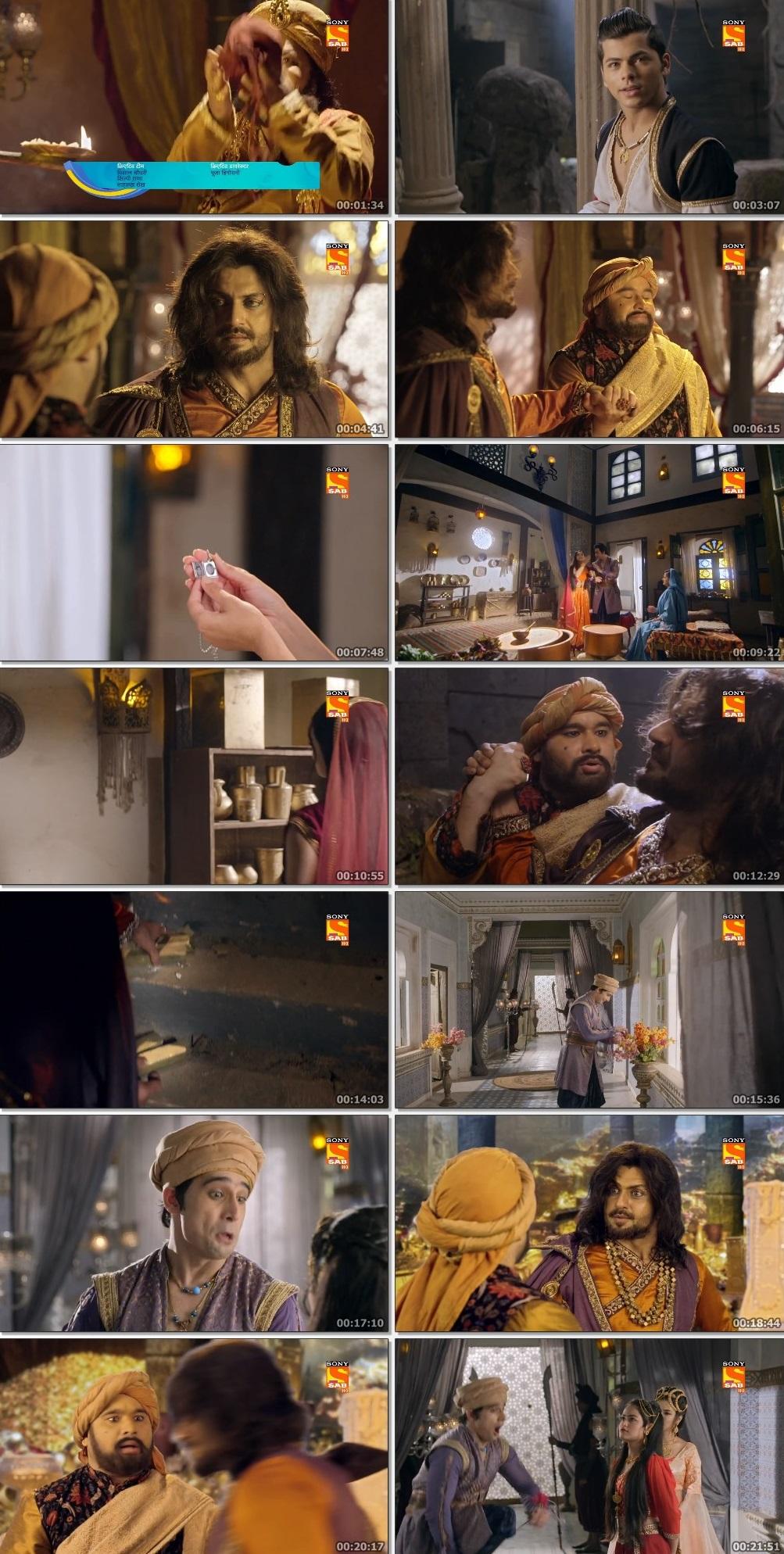 Screenshots Of Hindi Show Aladdin – Naam Toh Suna Hoga 2019 Episode 230 300MB 720P HD