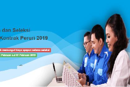 Rekrutmen Karyawan Kontrak Peruri 2019 SMA - S1