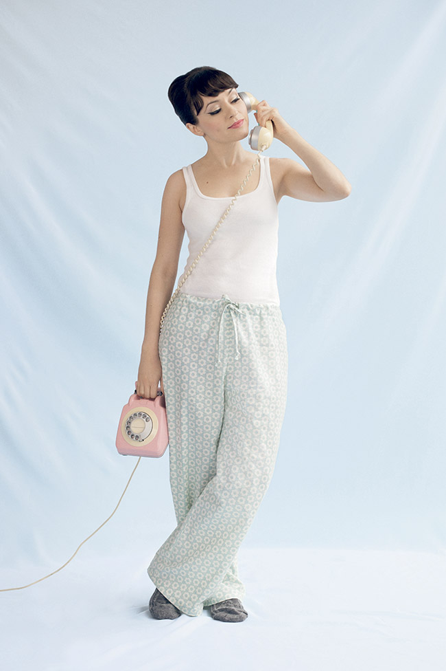 Margot pyjamas from Love at First Stitch by Tilly Walnes