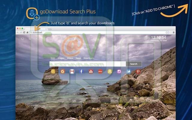 """""""GoDownload Search Plus"""" (Extensión)"""