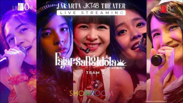 JKT48 J5 Idol No Yoake SHOWROOM