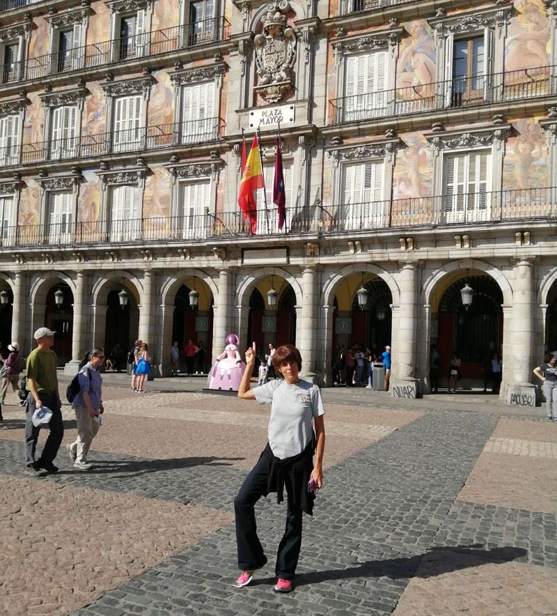 Io a Plaza Mayor