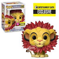 Pop! Disney: Lion King - Simba (Flocked)