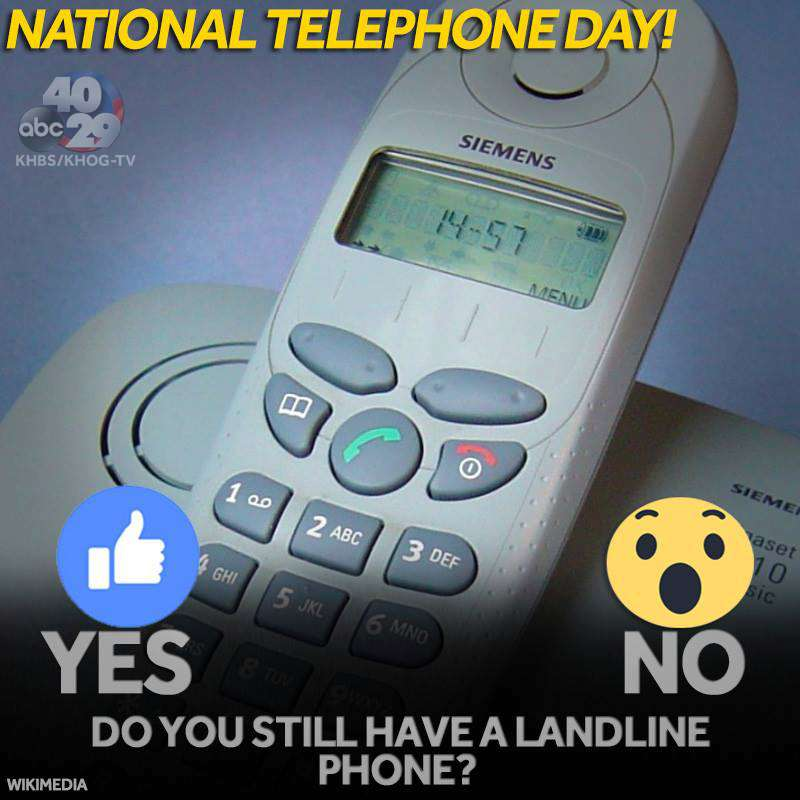 National Telephone Day Wishes Images download