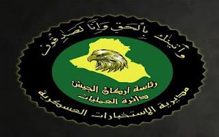العراق : ضبط مخزن للاسلحة والمتفجرات في احدى المضافات في محافظة الانبار