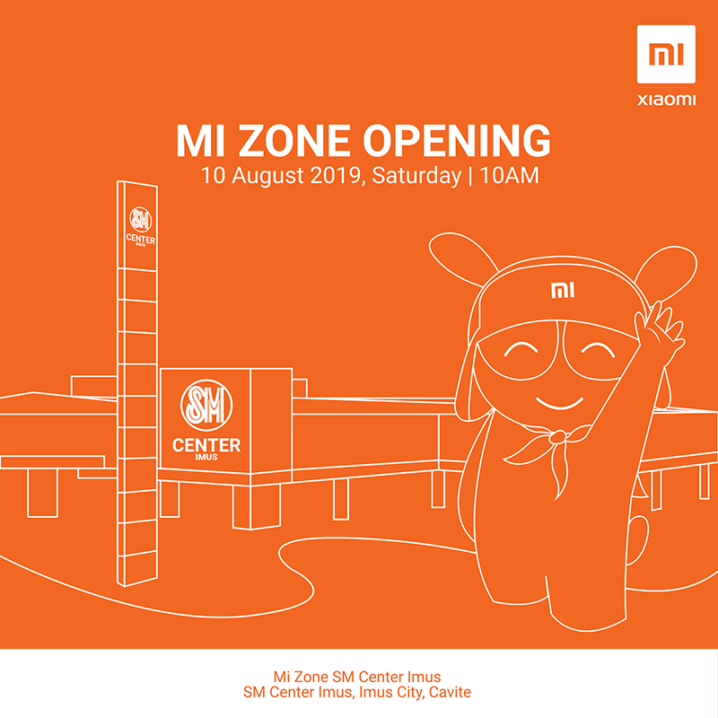 Xiaomi to open new Mi Zone at SM Imus in Cavite today