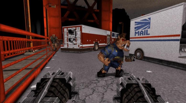 Duke Nukem 3D juego