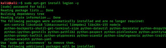 installing legion