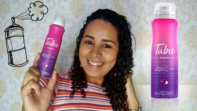 Desodorante antitranspirante aerosol TABU | Ousada