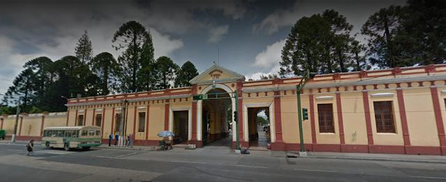 Vista frontal de Cementerio General de Guatemala