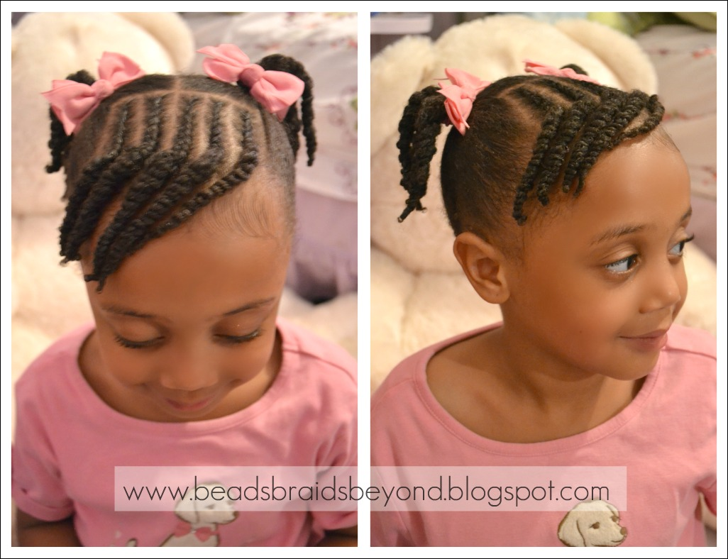 Braided Hair Styles For Little Girls: Beads, Braids And Beyond: Little Girls Natural Hairstyle