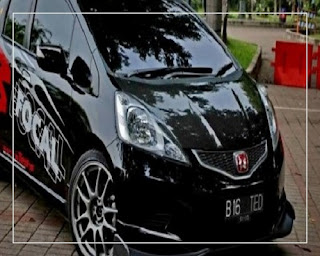 modifikasi honda jazz 2004