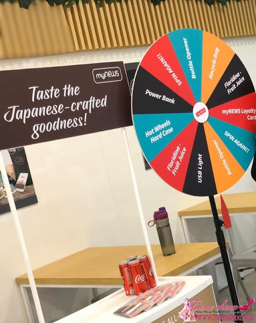 Wheel of Fortune for Freebies di myNEWS