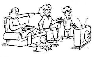 familia, tv, televisão, midia, comunicação
