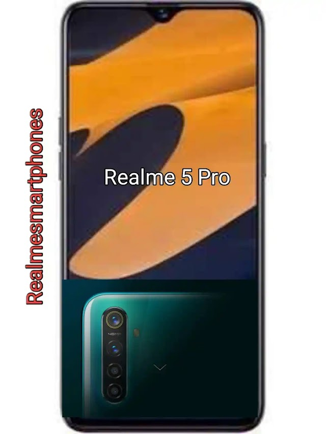 Realme 5 Pro 4GB RAM-Price in India and Full Specifications