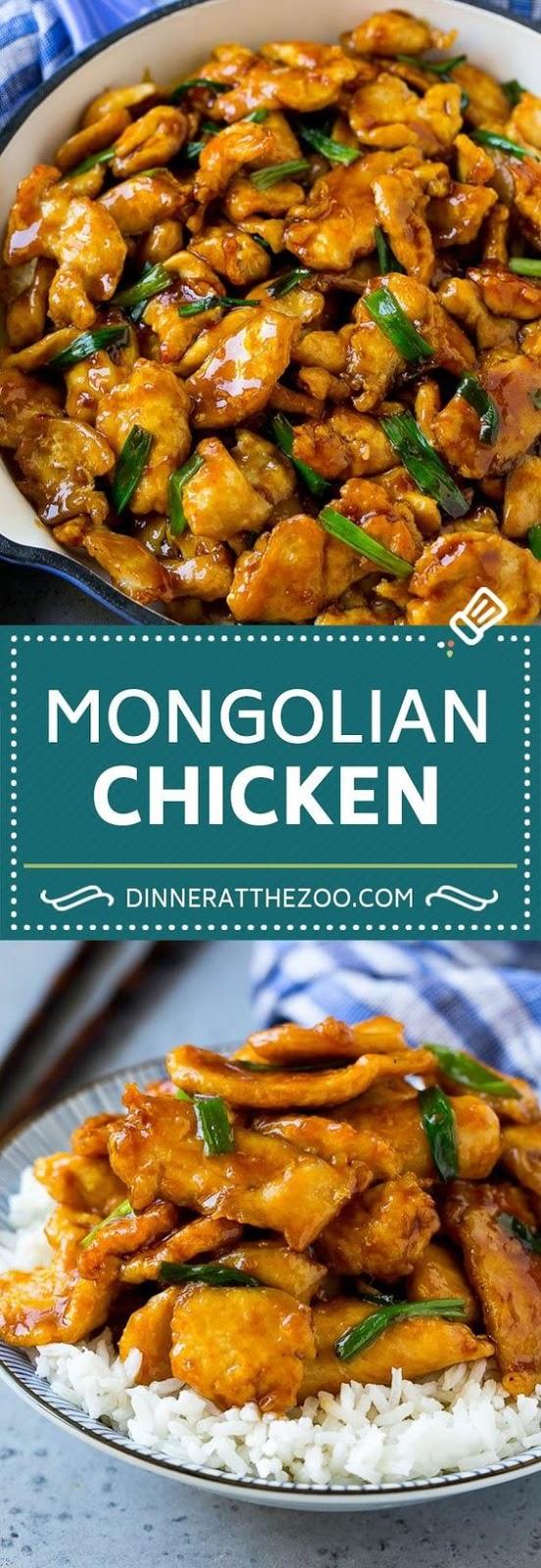 MONGOLIAN CHICKEN