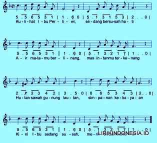 Ibu Pertiwi Lagu Nasional