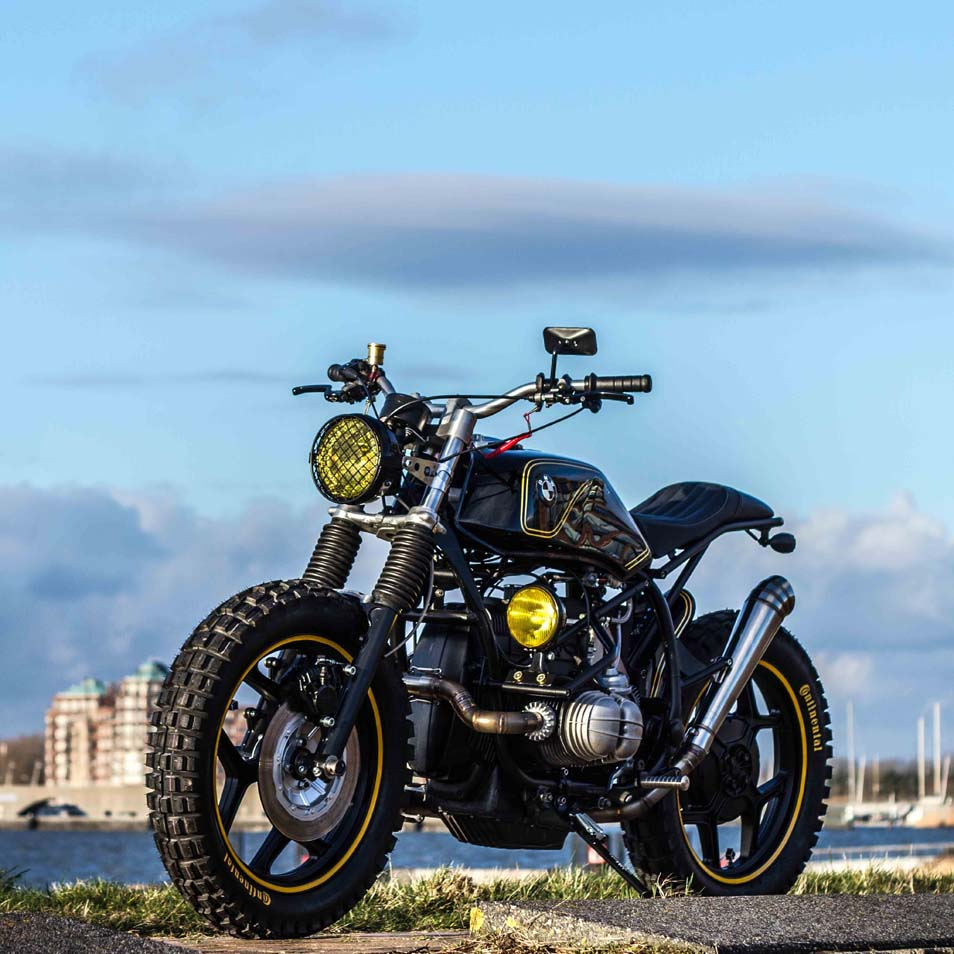 Ottonero Cafe Racer Quot The Riot Starter Quot R65 Iwc Motorcycles