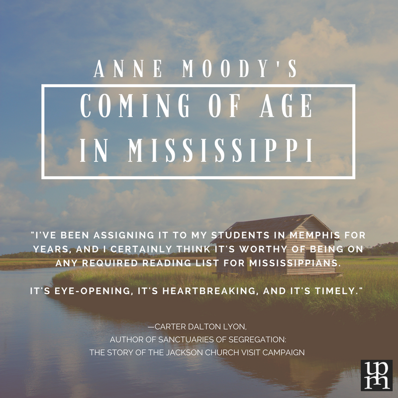 an analysis of the coming of age in mississippi a story by anne moody