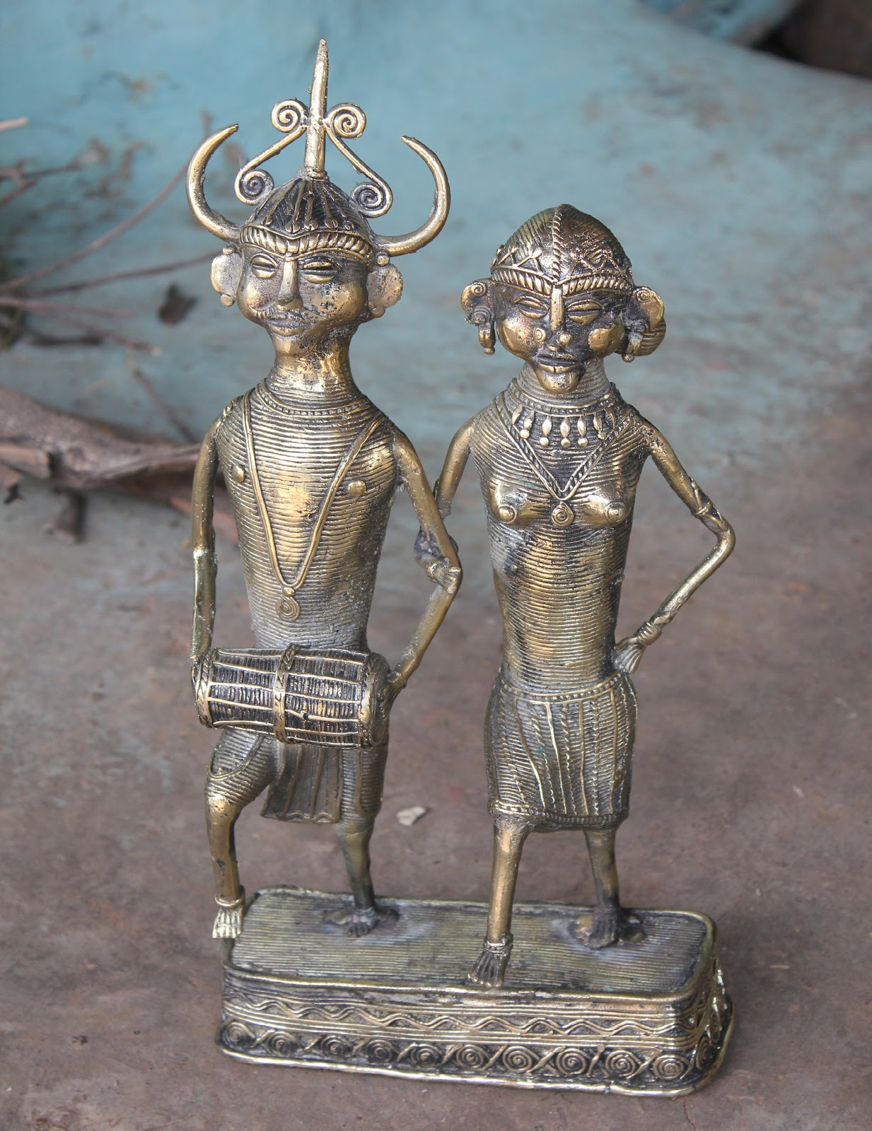 Arth Crafts: Dhokra Craft (Bell Metal)