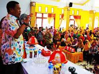 Kumpulkan Ribuan Guru, Bupati Pangkep Bahas Nasib Honorer K2, Netralitas dan Narkoba