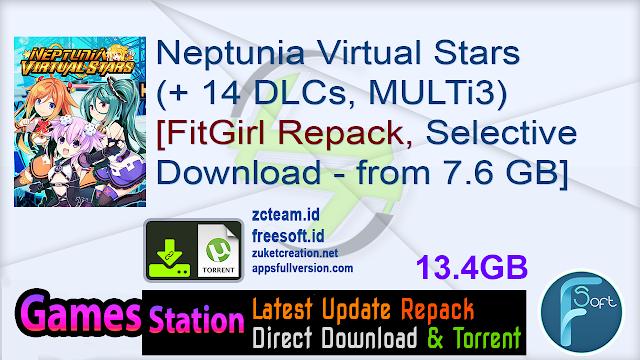 Neptunia Virtual Stars (+ 14 DLCs, MULTi3) [FitGirl Repack, Selective Download – from 7.6 GB]