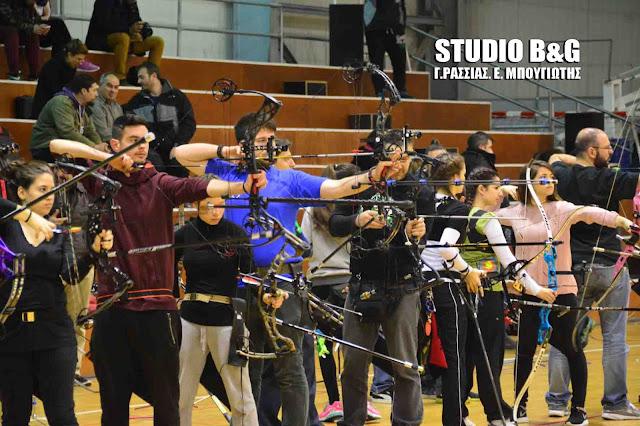 240 αθλητές από όλη την Ελλάδα συμμετέχουν σήμερα στο πανελλήνιο πρωτάθλημα τοξοβολίας στην Αγία Τριάδα