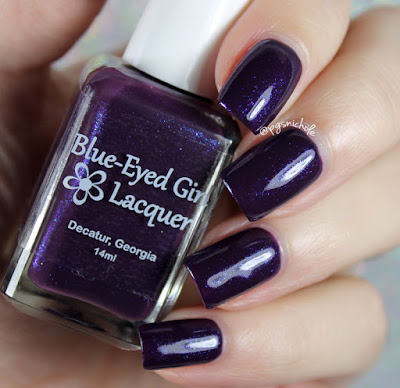 Blue-Eyed Girl Lacquer Basking in the Storm