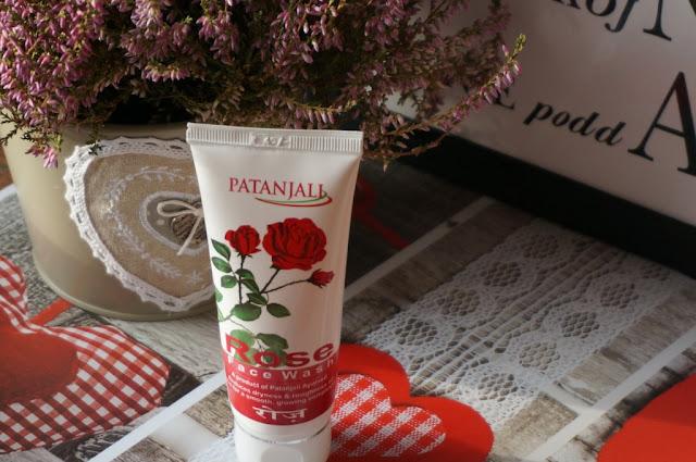 Różany żel do mycia twarzy Patanjali - ajurwedyjska pielęgnacja twarzy