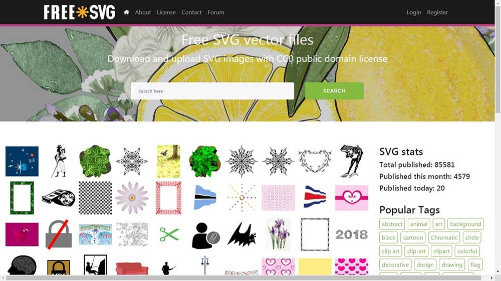Website tempat download gambar vector ai eps svg gratis untuk keperluan komersil