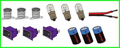 alat dan bahan membuat lampu lalu lintas sederhana