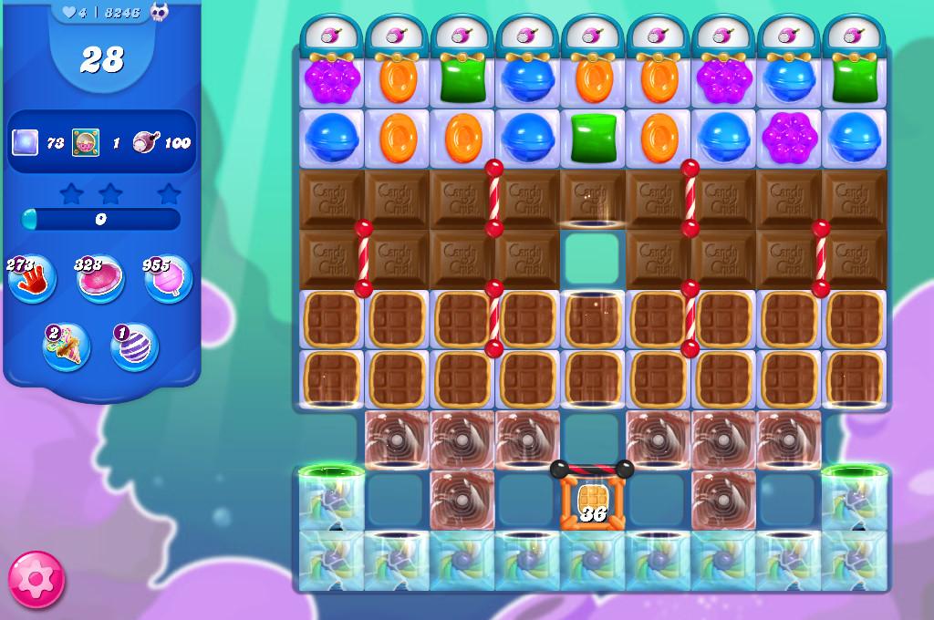 Candy Crush Saga level 8246