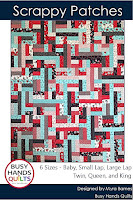 Scrappy Patches by Myra Barnes of Busy Hands Quilts