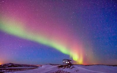 Sur les routes d'hiver en Islande