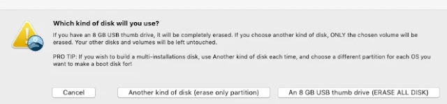 Erase all disk